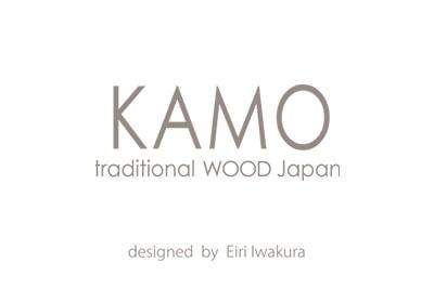 KAMO traditional WOOD Japanロゴ